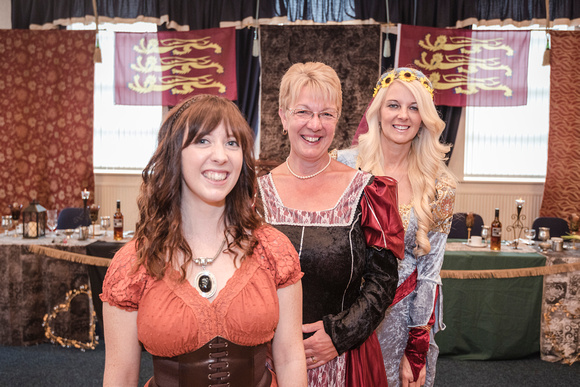 medieval wench wedding guests preston